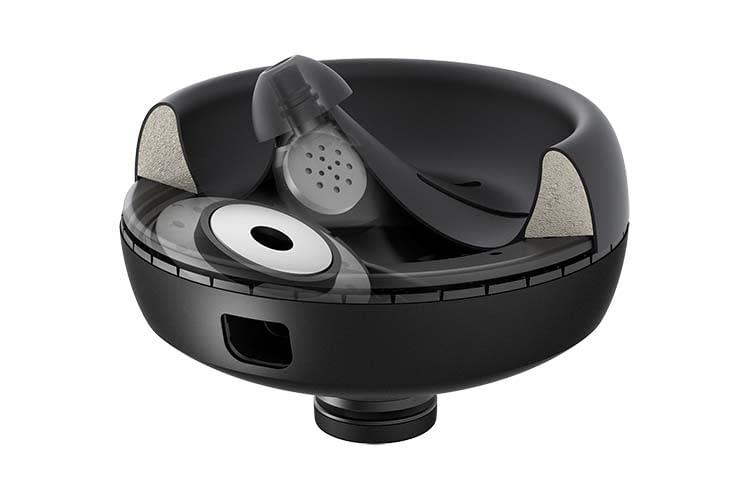 So sieht die Nura Nuraphone Hörmuschel im Technik-Querschnitt aus