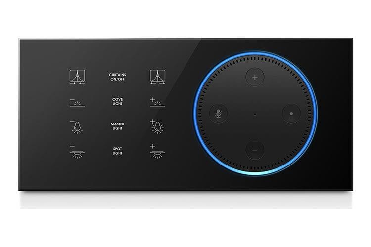 Die wohl eleganteste Verschmelzung von Echo Dot und smartem Steuerpanel