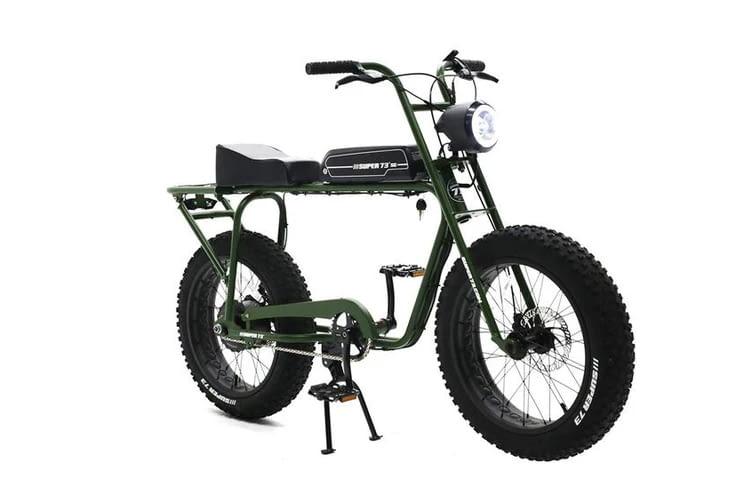 Die Super73 E-Bikes haben eine maximale Trittkraftunterstützung bis 25 km/h