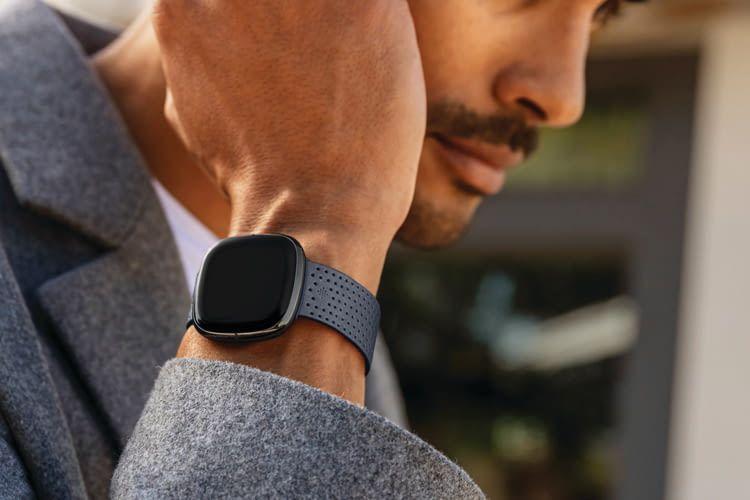 Das Design von Fitbit Sense kann sich sehen lassen