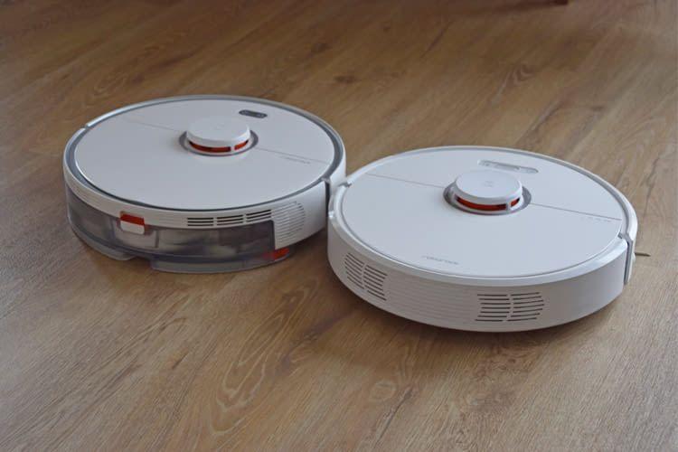 Die optische Ähnlichkeit zum Roborock S50 (rechts) ist groß