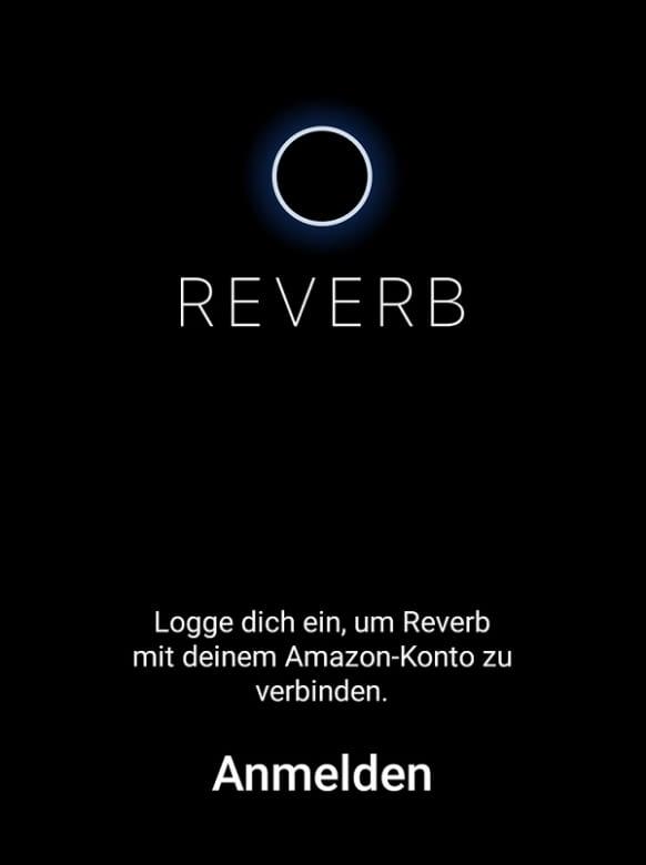 Zur Nutzung sind einige Einstellungen in der Reverb und der Alexa App nötig