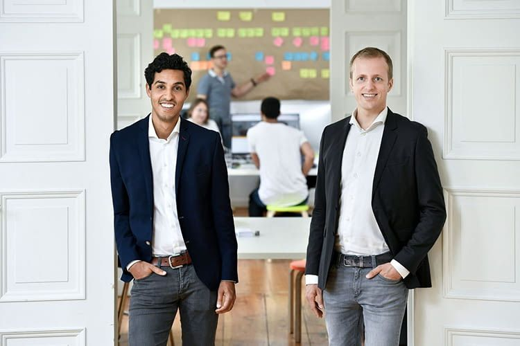 Fresh Energy Gründer Daniel von Gaertner und Christian Bogatu (v.l.n.r.)