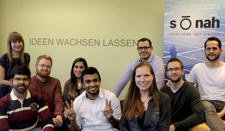 Das Start-up entwickelt sensorbasierte Lösungen für die City of Tomorrow