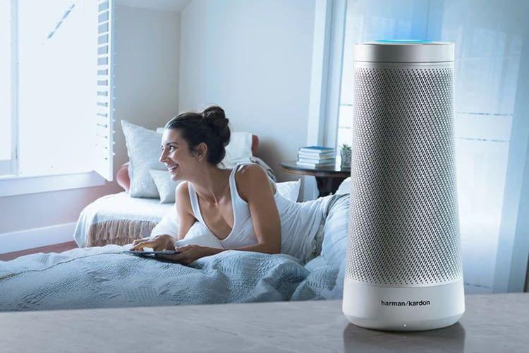 Cortana kann morgens über einen Harman Invoke Lautsprecher auf Zuruf die Lampen hochdimmen
