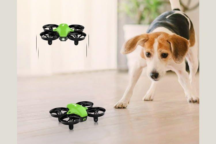 Die Potensic Mini-Drohne ist ideal für Anfänger ab 14 Jahren