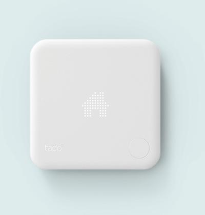 Abbildung des Tado Thermostat zur Heizungssteuerung