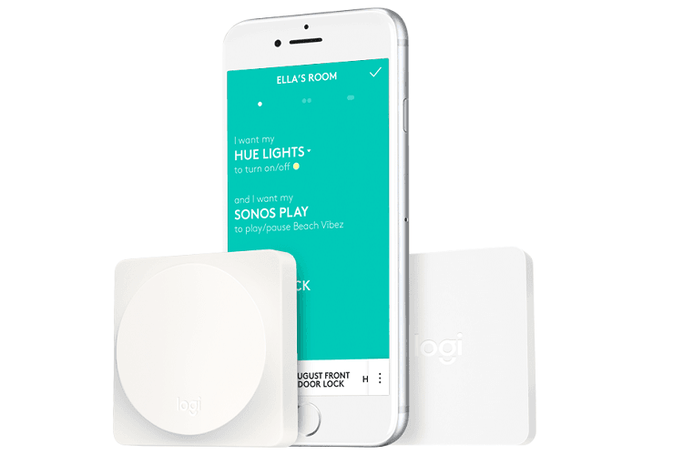 Der Logitech Pop Smart Button kann mit App gesteuert werden - muss aber nicht