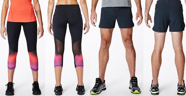 Die Sportswear zum Chip: Lumo Run Leggings und Shorts