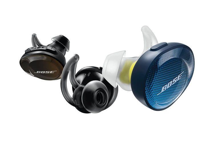 Die Bose SoundSport Free Bluetooth-Kopfhörer sind gleichzeitig Ohrschmuck
