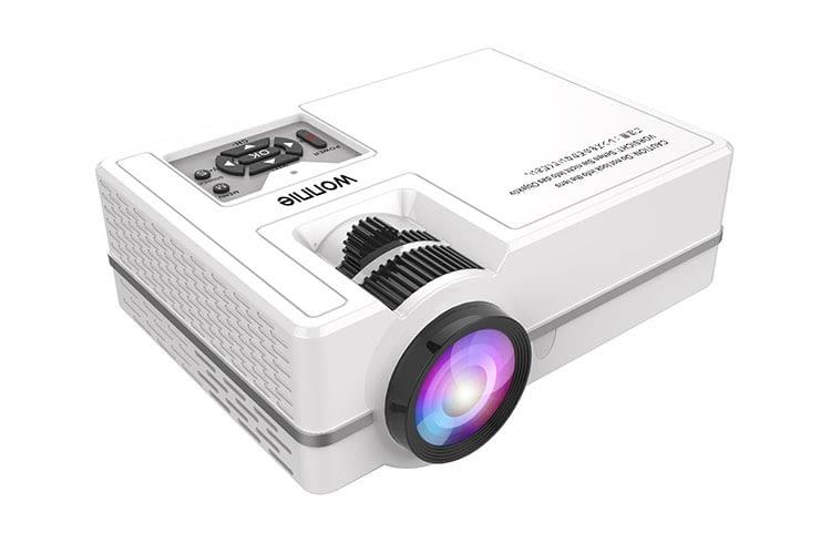 WONNIE Mini LED-Beamer - Überrascht mit guten Kontrast- und Helligkeitswerten