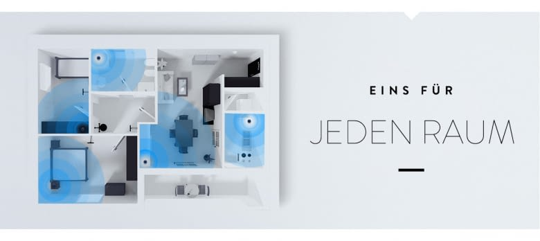 Amazon Echo Dot für jeden Raum im smarten Zuhause
