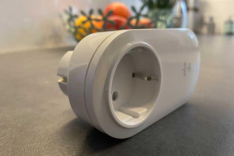 Der für unseren Test verwendete POPP Power Plug verfügt über einen Stromverbrauchsmesser