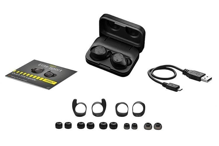Jabra Elite Sport True Wireless-Kopfhörer komt mit umfangreichen Zubehör