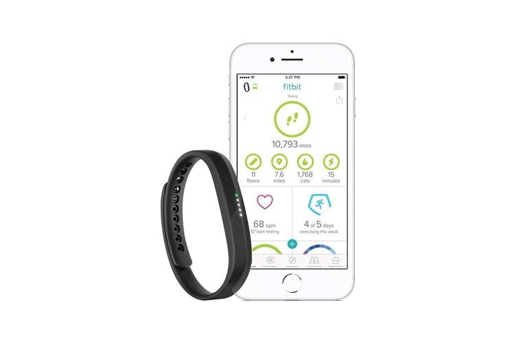 Fitbit Flex 2 besteht aus flexiblem, haltbarem Elastomerwerkstoff