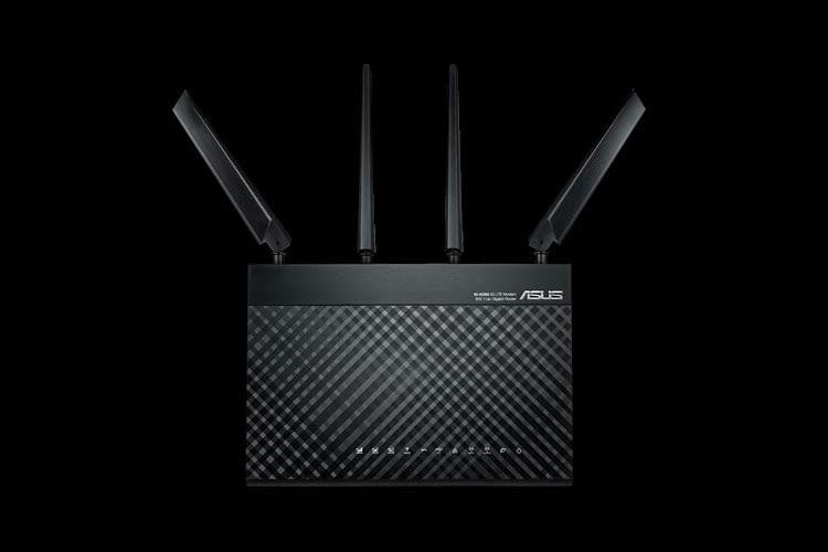 Der stationäre LTE Modem Router Asus 4G-AC68U 1900 kann ein ganzes Gebäude mit schnellem WLAN versorgen