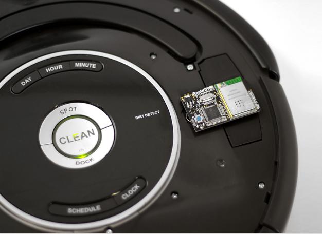 RooWifi verbindet Roomba Staubsauger mit dem W-Lan