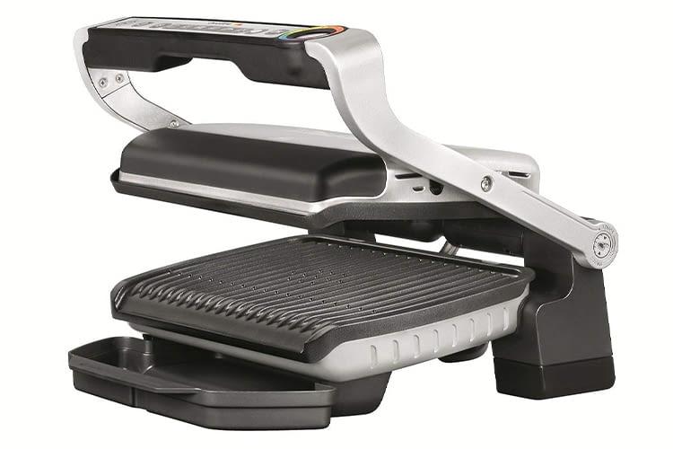 Bereits die kleinste Variante der Tefal-Kontaktgrillserie OptiGrill verfügt über Features wie Automatic Sensor Cooking
