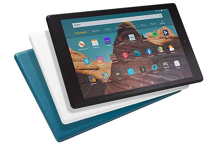 Das Amazon-eigene Fire HD 10-Tablet erscheint bereits in der 9. Generation