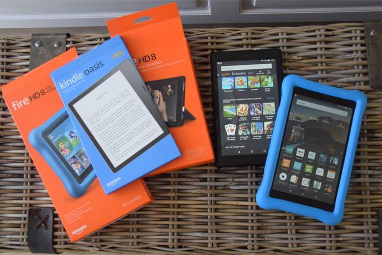 Mit diesen Geräten haben wir das Kindle Abo mehrere Monate lang getestet