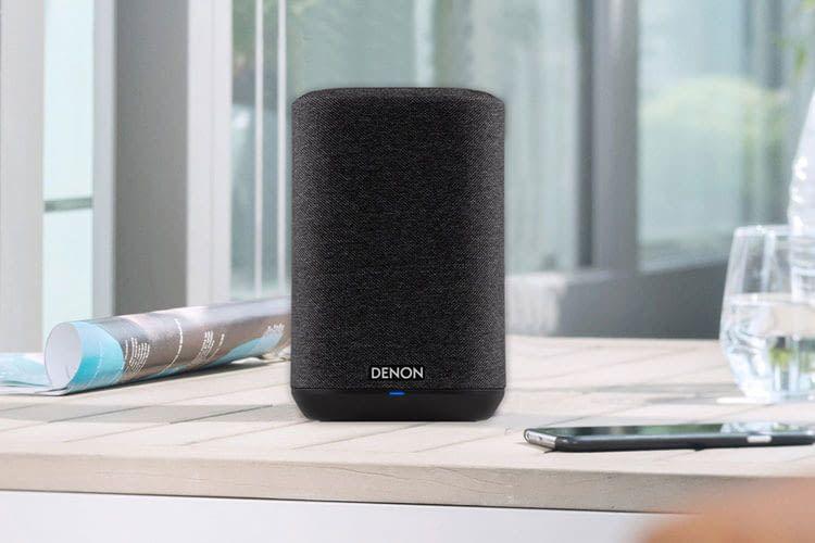 Der Denon Home 150 Lautsprecher erinnert optisch stark an Sonos One