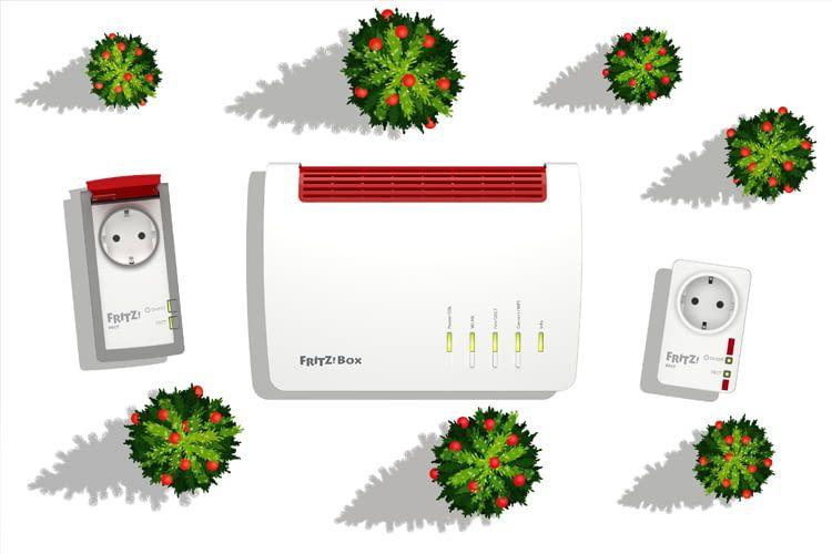 Smarte Weihnachtsbeleuchtung mit dem inoffziellen FRITZ!-Skill