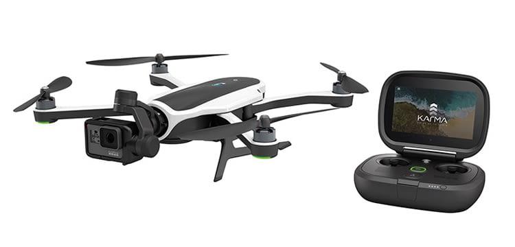 Zusammen mit der HERO5 Black ist die Karma-Drohne der Traum aller GoPro-Filmer