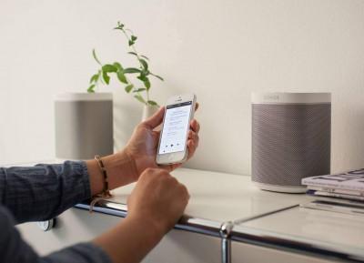 iHaus App Steuerung von Sonos