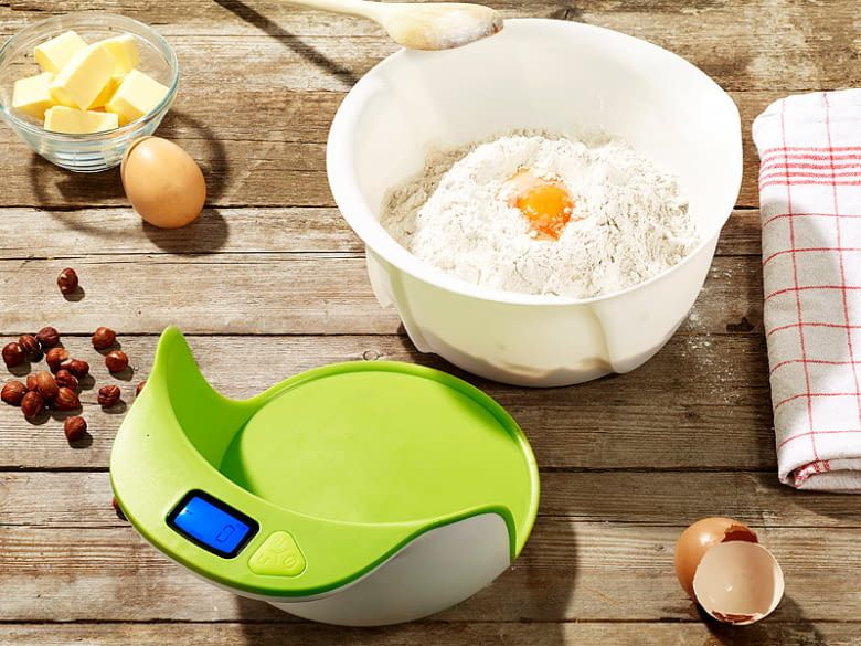 Digitale Küchenwaage von Rosenstein & Söhne