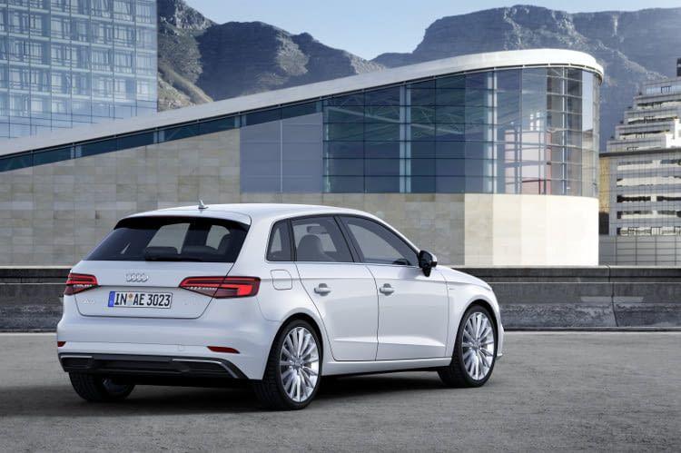 Audi A3 Sportback e-tron Hybridsportler aus Ingolstadt erhält die Effizienzklasse A+