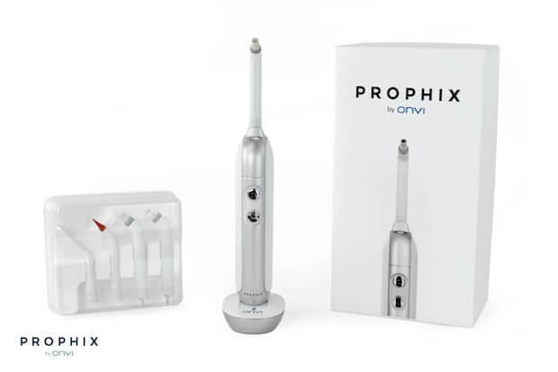 Die Prophix WLAN und Bluetooth Zahnbürste mit Verpackung