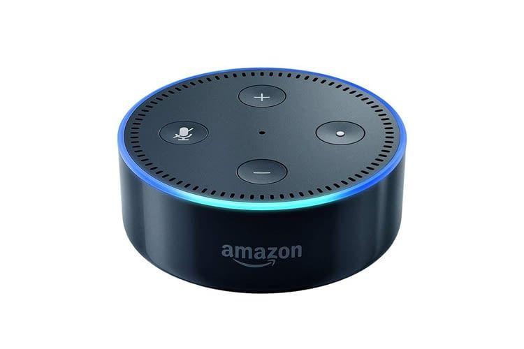 Auch Echo Dot Lautsprecher der 2. Generation sind dank Alexa-Cloudanbindung immer auf dem aktuellen Wissensstand