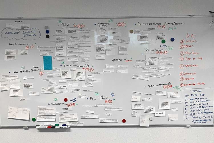 Teamworkshop bei home&smart - Welche Themen sind für unsere Leser relevant?