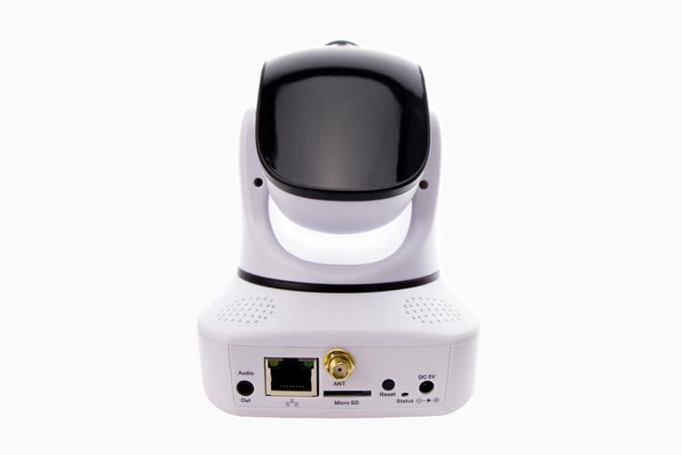 IN-6014 HD kann mit Speicherkarten bis zu einer Größe von 32GB genutzt werden