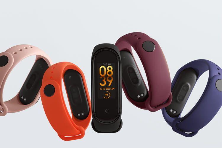 Für das Xiaomi Mi Band 4 sind Armbänder in vielen verschiedenen Farben erhältlich