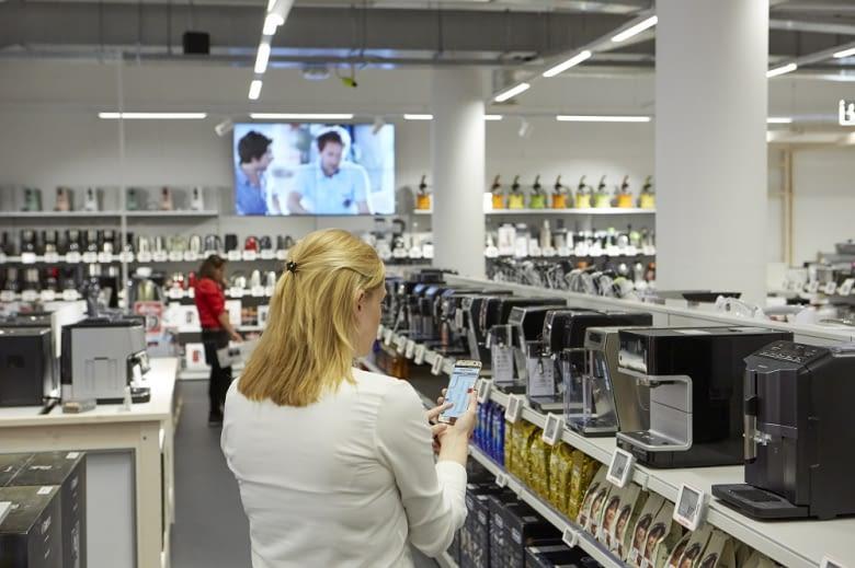 Zielgerichteter und effizienter einkaufen – das erleichtert nicht nur Kunden, sondern auch Servicemitarbeiter