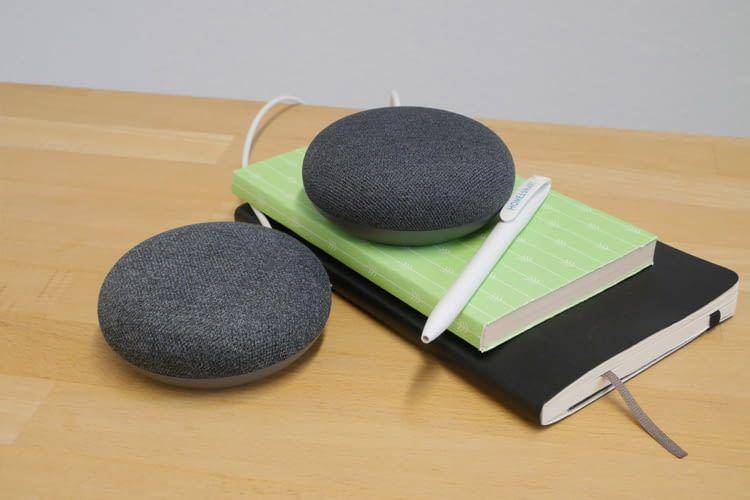 Sowohl Google Home Mini als auch Google Nest Mini bieten in Verbindung mit einem zweiten Speaker Stereo-Sound