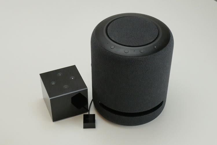Amazon Echo Studio und Amazon Fire TV Cube (2. Gen.) sollen sich zum Heimkinosystem verbinden lassen