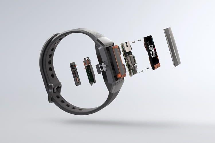 Das Ionic-Gehäuse besteht aus 6000er-Serien-Aluminium in Flugzeugindustrie-Qualität