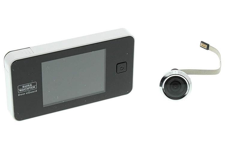 Der digitale Türspion BURG WÄCHTER eGuard DG8100 ist einfach zu installieren und zu bedienen