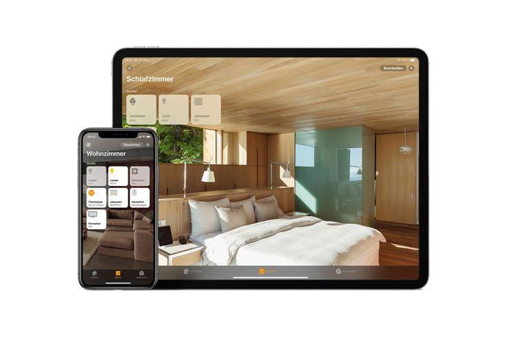 Neben den klassischen Apple Geräten kann auch Siri über HomeKit Haushaltsgeräte steuern