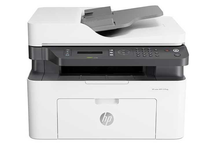 Der Multifunktionsdrucker HP Laser 137fwg ist ein robuster SW-Home-Office-Laserdrucker für größere Druckaufkommen