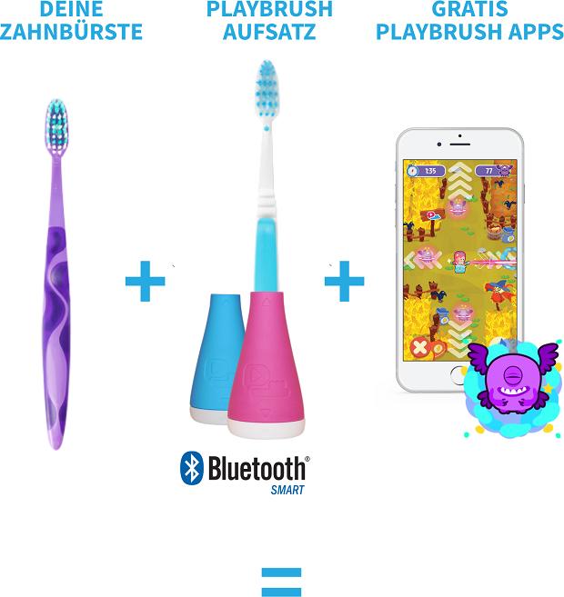 Playbrush - der smarte Zahnputzaufsatz für Kinder