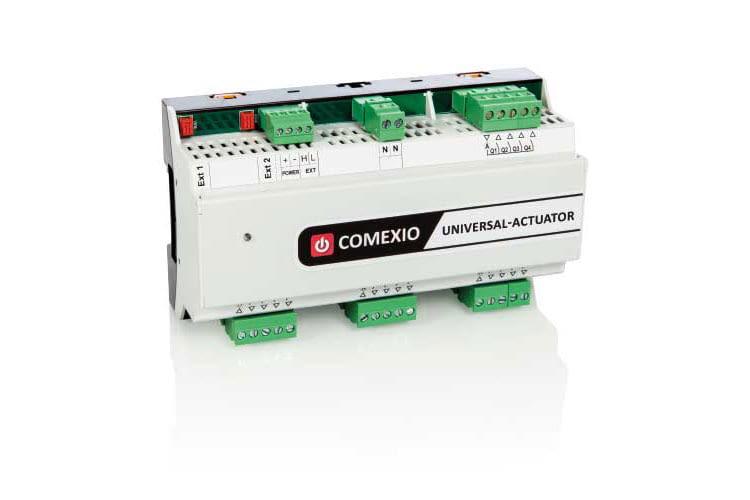 COMEXIO bietet Aktoren, um beispielsweise Motoren und Rollläden zu verbinden