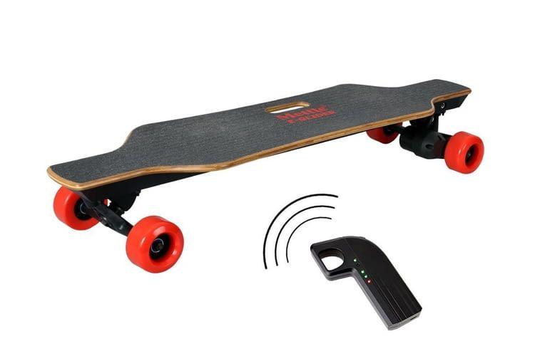 Das E-Board E-GLIDER glänzt mit jeder Menge praktischer Details
