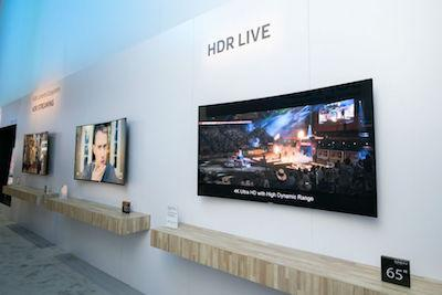 Abbildung HDR Live TV Samsung