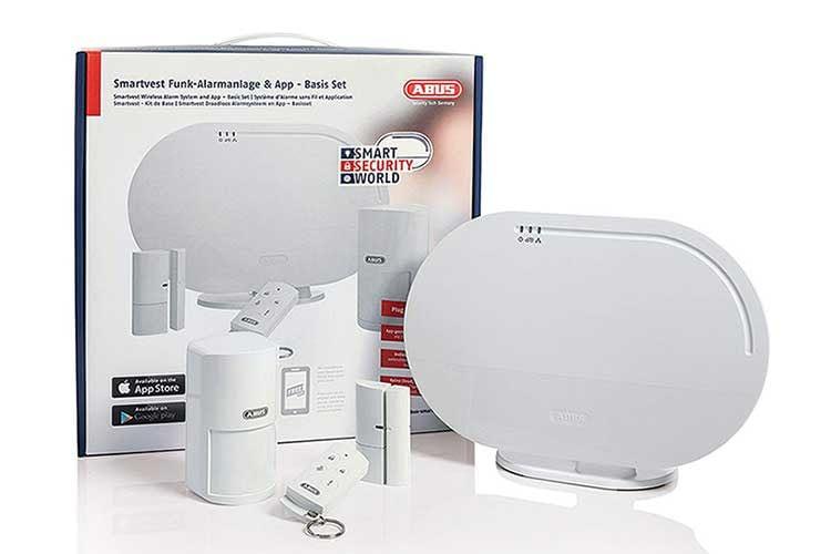 Das ABUS Smartvest Funk-Alarmanlagen Basis Set macht das zu Hause sicherer