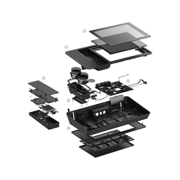 Abbildung des Ily Smart Home Phone Aufbaus - Technik