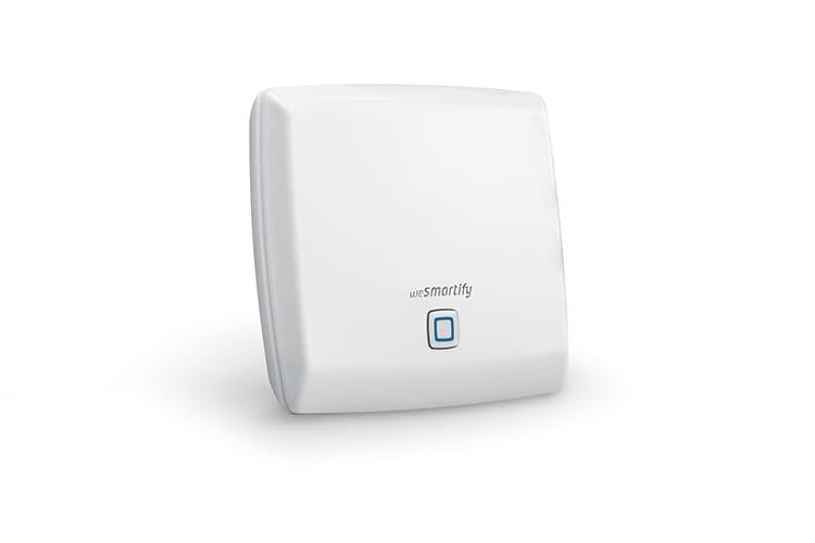 Der wesmartify Access Point ist das Herzstück des Smart Home Systems