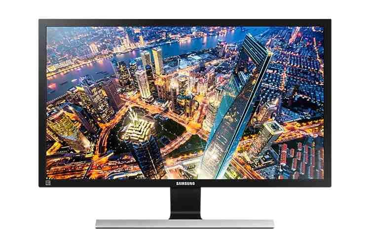 Der 28 Zoll Monitor von Samsung bietet mit 4K ein besonders scharfes Bild
